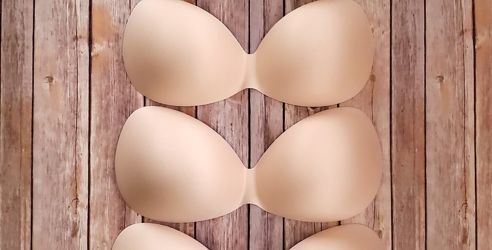 Wider-width Round Shape Bilateral Mastectomy Breast Forms