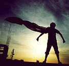 cape-child-silhouette-sunlight-superman.