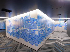 November DexNews: TokyoDex Office Art Project and Project in Shibuya with Woods Bagot!