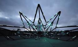 Sensitive-Star-interactive-installation-by-Estudio-Guto-Requena