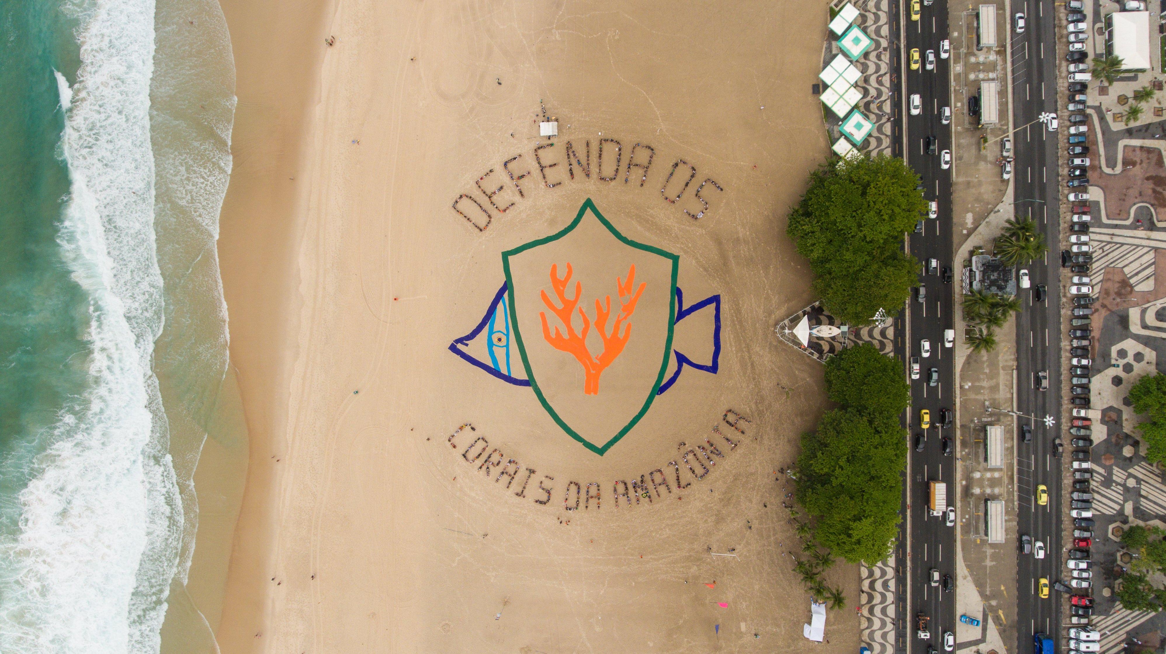 Defenda pos corais da Amazônia