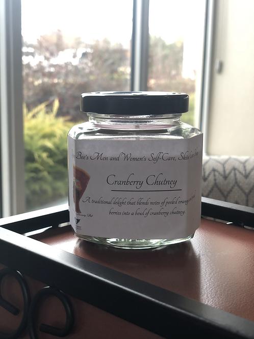 4oz Cranberry Chutney Soy Candle