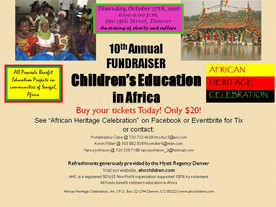 Make a Difference for Children's Education - Join Us For Our 10th Annual Fundraiser!