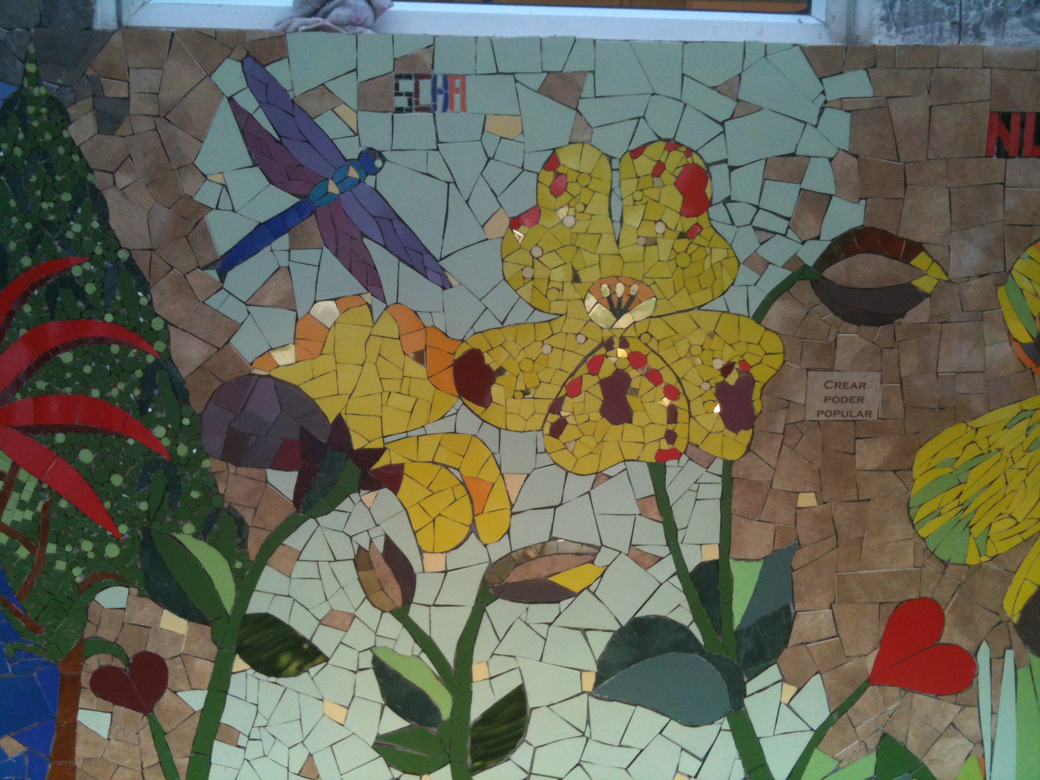 ​1st Urban Mosaic Intervention, Chile