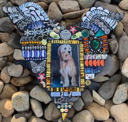 Kipper Pet Memorial Mosaic