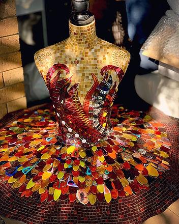 Firebird by Kim Grant Mosaics