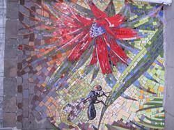 1st Urban Mosaic Intervention, Chile