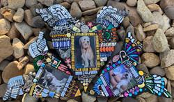 Yoshi, Kipper & Barney Pet Memorial Mosaics