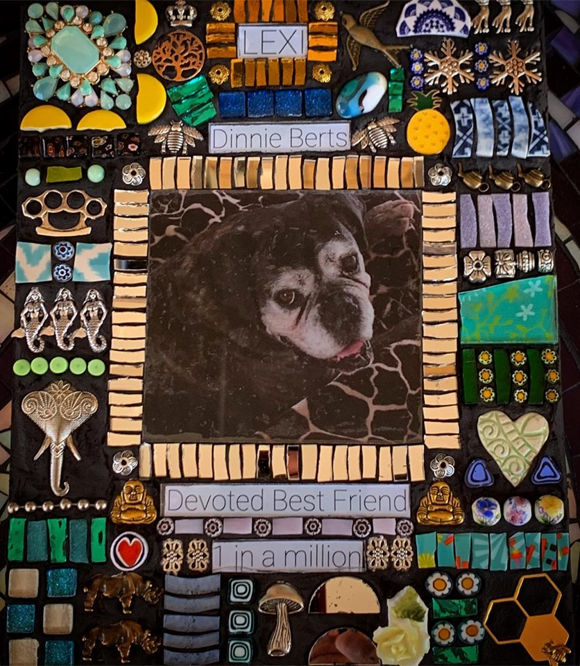 Lexi Pet Memorial Mosaic