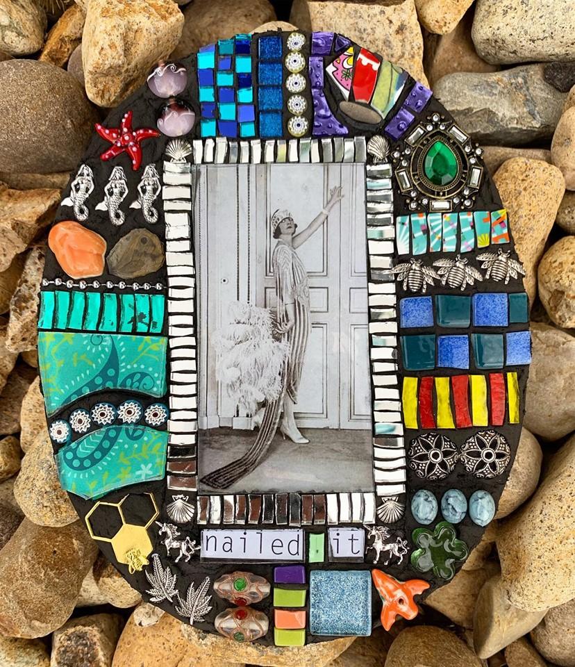 Nailed it by Kim Grant Mosaics