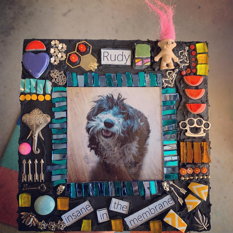 Rudy Pet Memorial Mosaic