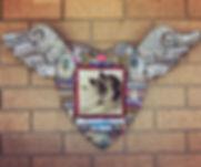 Kala Pet Memorial Mosaic by Kim Grant Mosaics