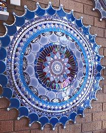 Mandala by Kim Grant Mosaics