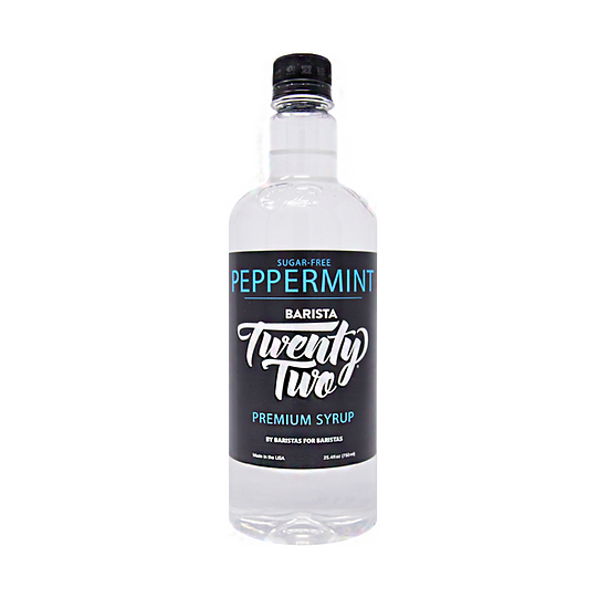 SUGAR-FREE PEPPERMINT SYRUP 750mL
