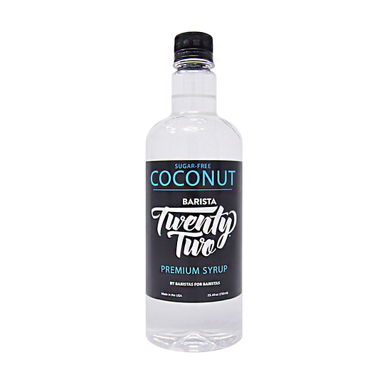 SUGAR-FREE COCONUT SYRUP 750mL