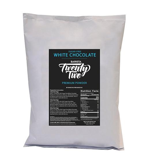 SUGAR-FREE WHITE CHOCOLATE POWDER
