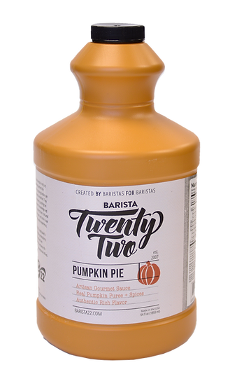 PUMPKIN PIE SAUCE 64oz