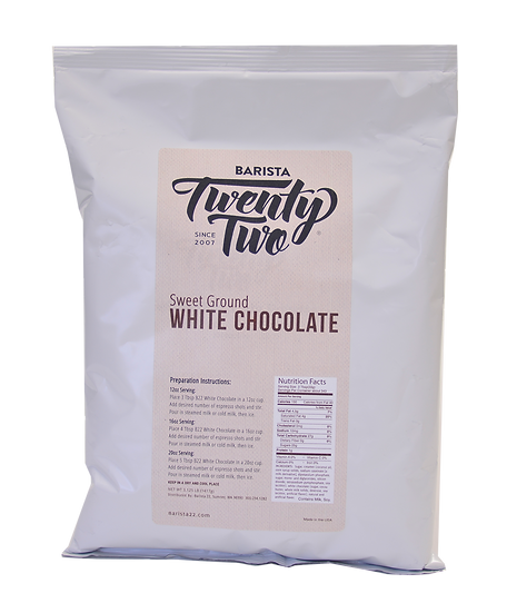 WHITE CHOCOLATE POWDER
