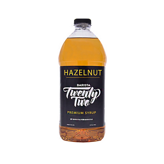 HAZELNUT SYRUP 64oz
