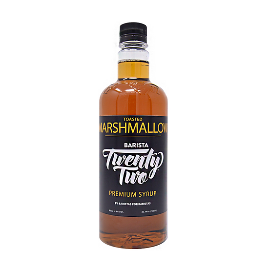 TOASTED MARSHMALLOW SYRUP 750mL