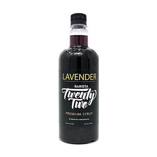 LAVENDER SYRUP 750mL