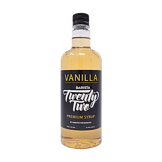VANILLA SYRUP 750mL