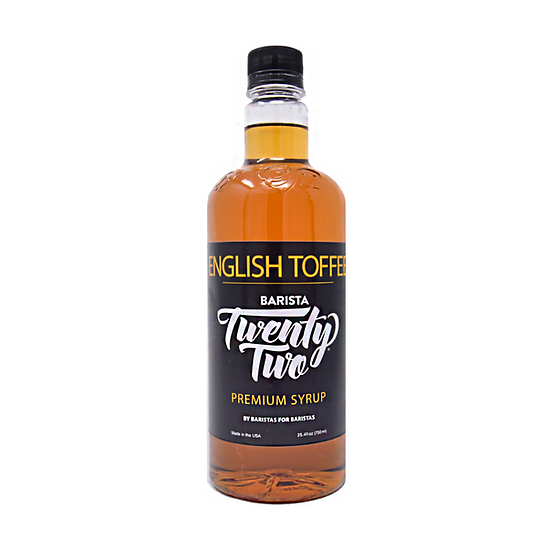 ENGLISH TOFFEE SYRUP 750mL