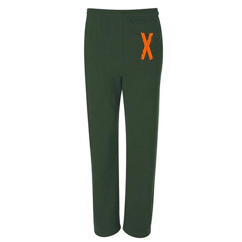 """X"" Xtreme Sweat Pants - Olive"