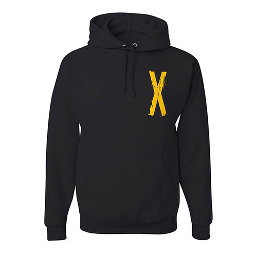 """""""Xtreme"""" Hoodie - Black and Yellow"""