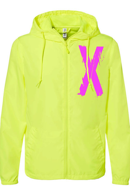 """Xtreme"" Windbreaker - Neon and Pink"