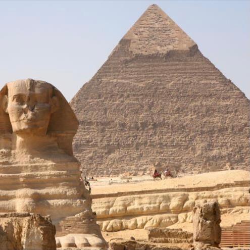 A Grande Pirâmide de Gizé, Egito