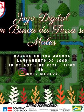 Em busca da terra sem males - live de lançamento do jogo digital