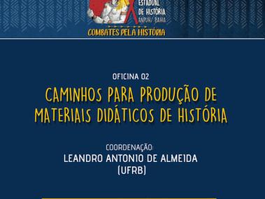 Oficina sobre produção de Materiais Didáticos na ANPUH Bahia