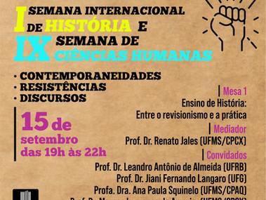 I Semana Internacional de História UFMS