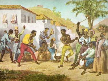 No Gingado da Capoeira