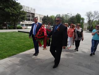 В честь дня Великой Победы