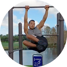 hanging core exercise