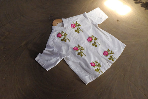 A Shirt with Roses
