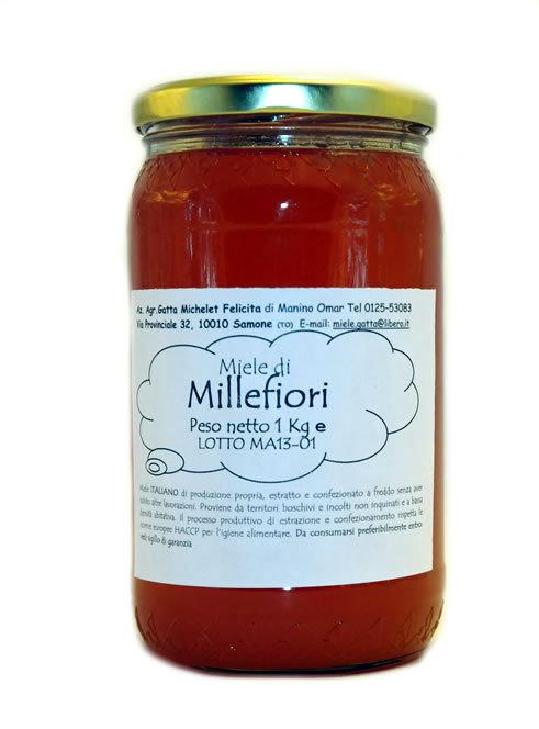 Miele Millefiori - 1Kg.