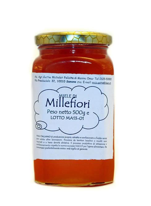 Miele Millefiori - 500gr.