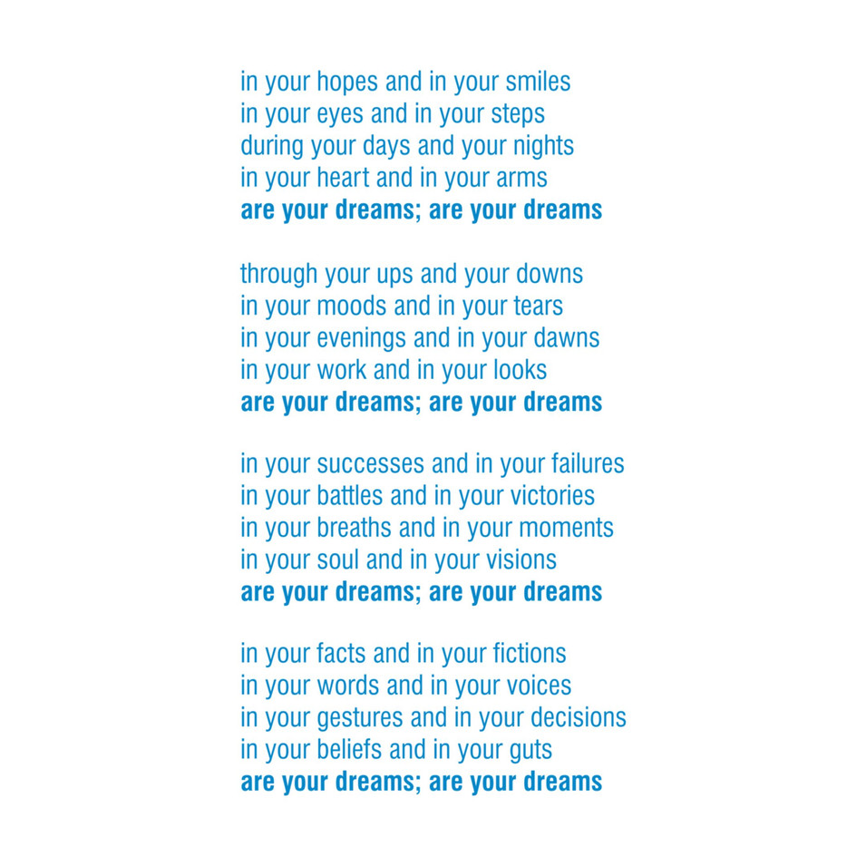 are your dreams