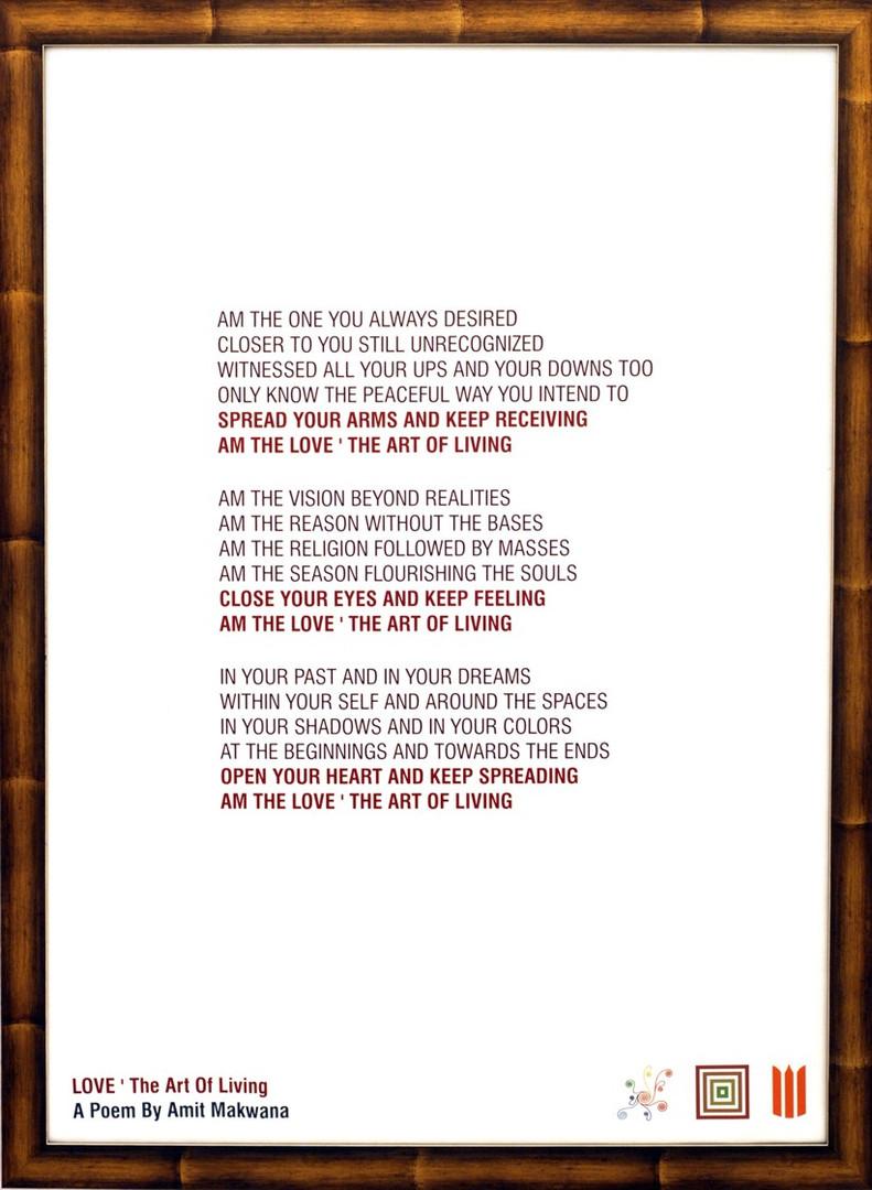 LOVE ' The Art Of Living