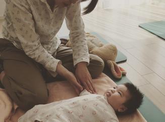 赤ちゃんとお母さんのタッチケアクラス