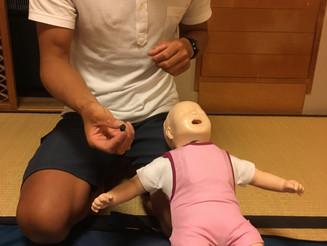 小児、乳児に向けた心肺蘇生法