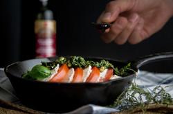 Vegan Capresse Salad