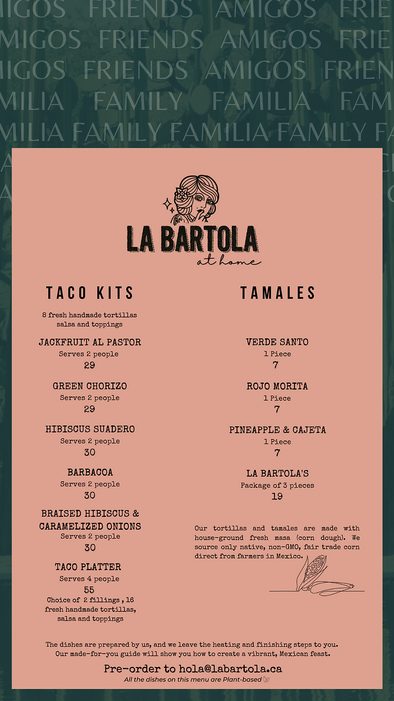 Vegan tacos, mexican food, vegan food, vegan mexican toronto
