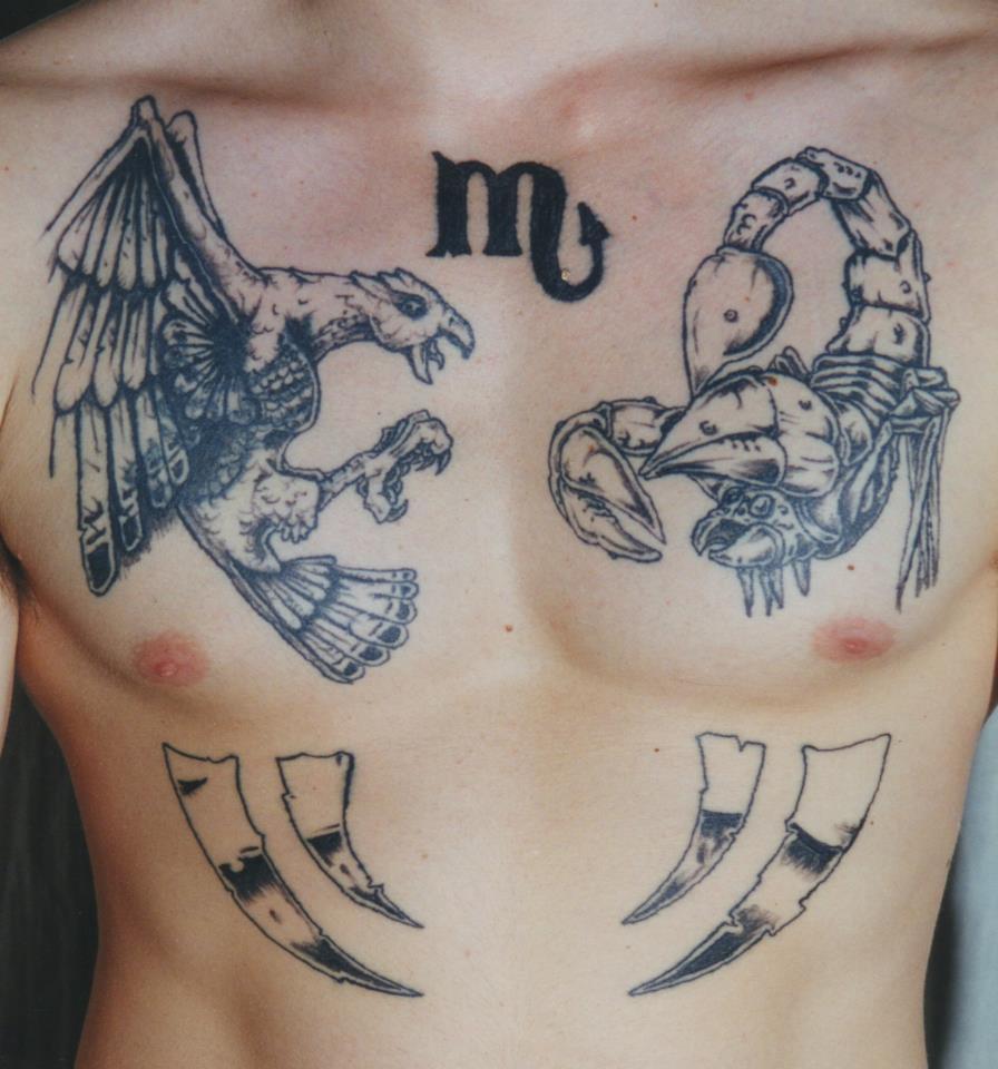 scorpion and eagle