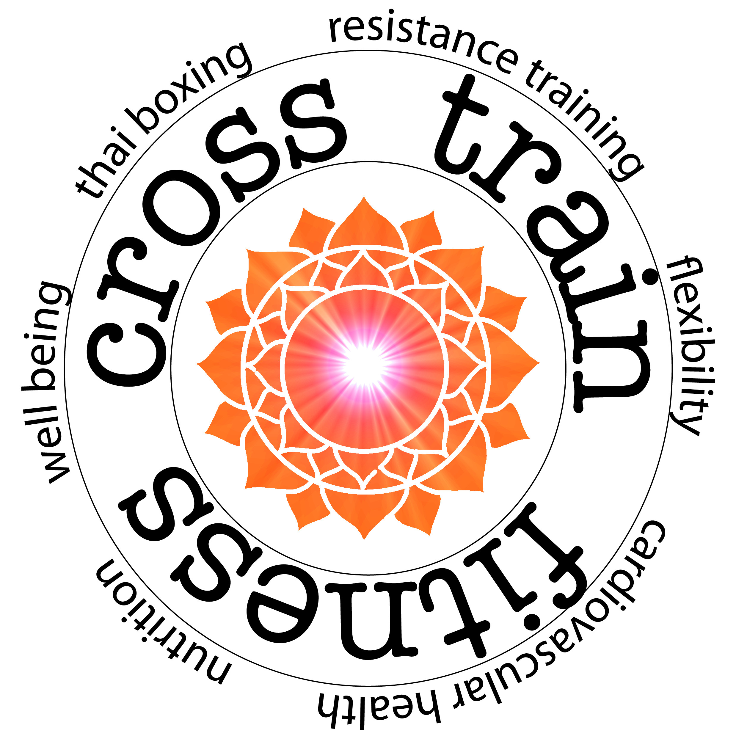 cross train fitness logo