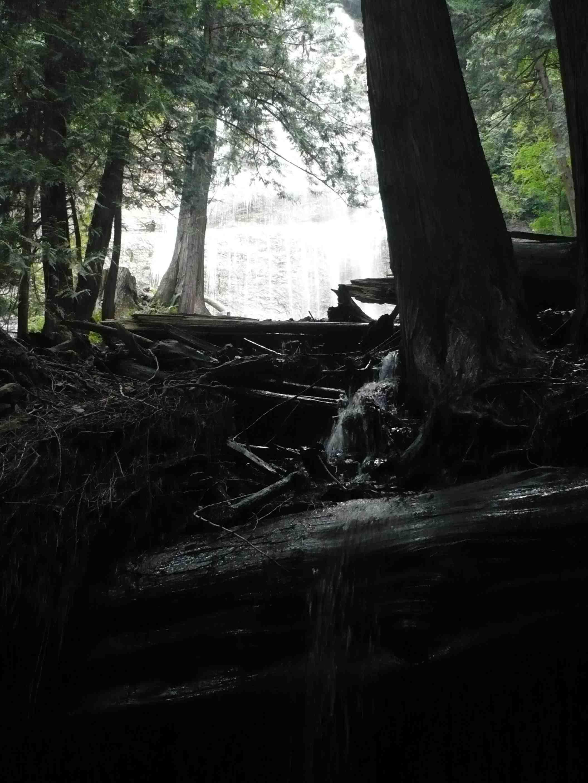 photograph waterfalls