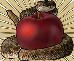the apple and the snake